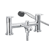 Cascade Spiral Bath Shower Mixer Tap