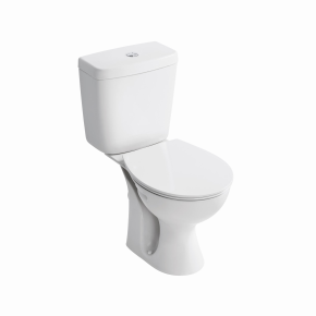 Armitage Shanks Sandringham 21 E8966 close coupled cistern with dual flush and bottom inlet 6/4ltr White
