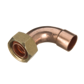 End Feed Bent Tap Connector 15mm x 3/4""