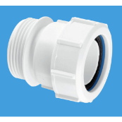 McAlpine T31M male (BSP) x multi-fit connector 1.1/2""