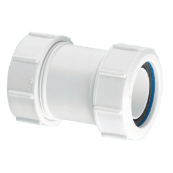 McAlpine T28M straight multi-fit connector 1.1/2""