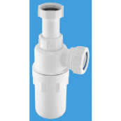 McAlpine C10AR bottle trap re-seal adjustable inlet 1.1/2""